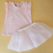 Completo in Jersey e Tulle